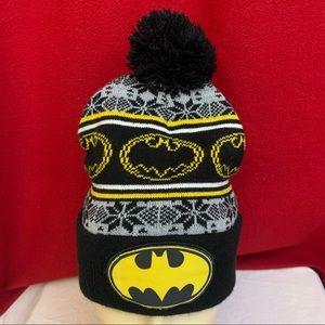 Batman DC Comics Black Pom Beanie